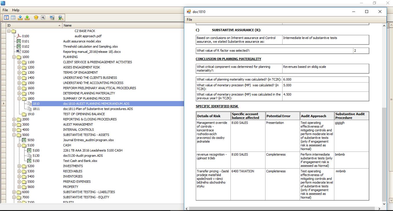 Advantages - Aure Software